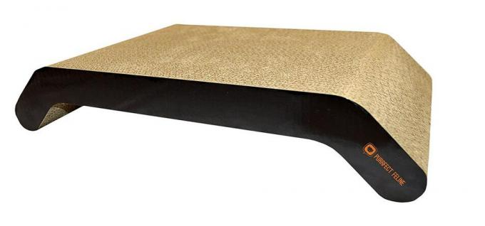 OEM Corrugated Cat Scratch Sofa Double Sided Surface Long Lasting Lifespan