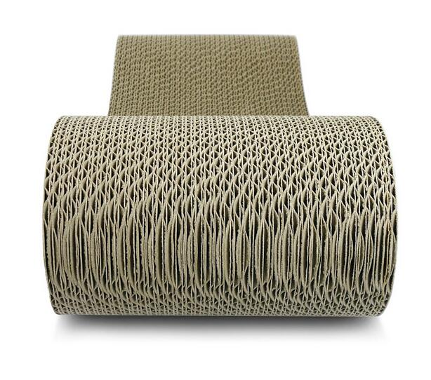 14% Humidity Corrugated Cat Scratcher Meet Cats' Natural Needs 3 Color Choices