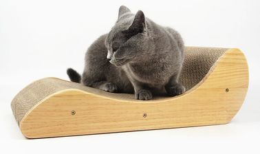 China Heavy Duty Cat Scratch Board Cardboard Eco - Friendly Material To Trim Claws supplier