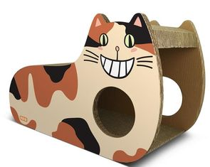 China Indoor Cat Scratch Board Cardboard 10%~20% Moisture Standard Abrasion Resistance supplier