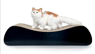 China Double - Sided Cardboard Cat Bed Superior Construction  Large Surface Area supplier
