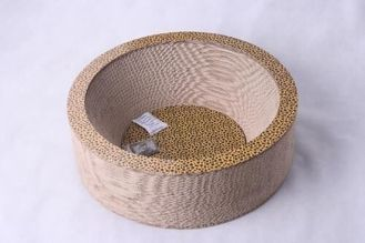 China Unique Design Corrugated Cat Scratcher Various Sizes Eco Fiendly Paper Material supplier
