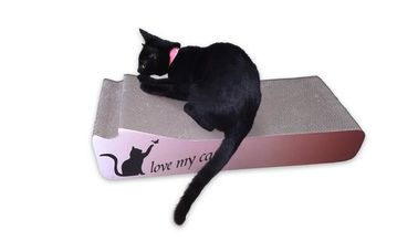 China Large Surface Area Cat Scratching Mats Renewable Materials For Cat Sleeping distributor