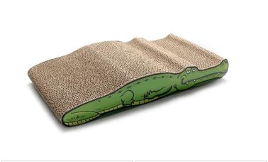China SGS Approved Cat Scratching Pad Cardboard Textured Scratching Surface For Rest distributor